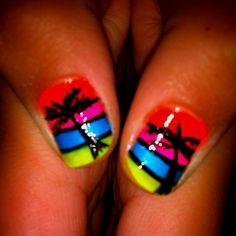 Jaycie's 4 day cruise nails