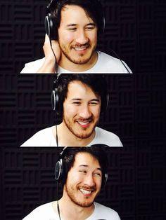 I love mark's smile :)