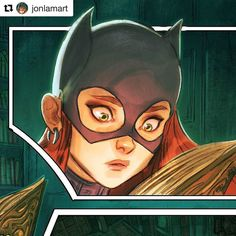 #wooolikes @jonlamart  I will be posting the full page on #Twitter in the morning. Follow me there at #Jonlamart  #batgirl #gothamacademy #gotham #art #comicartist #comicbook #illustration #batman #graphicnovel #cool #fanart #sketchbook #dcu #dccomics #ilovebatgirl #wacom #graphicart #followme #toronto #comic #cómic #illustrationartists #illustratorsoninstagram #regram #repost #wooomic #comics