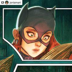 #wooolikes @jonlamart  I will be posting the full page on #Twitter in the morning. Follow me there at #Jonlamart  #batgirl #gothamacademy #gotham #art #comicartist #comicbook #illustration #batman #graphicnovel #cool #fanart #sketchbook #dcu #dccomics #ilovebatgirl #wacom #graphicart #followme #toronto #comic #cómic #illustrationartists #illustratorsoninstagram #regram #repost #wooomic #comics