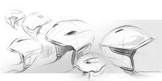 Ski Helmet by Florian QUERTINMONT, via Behance