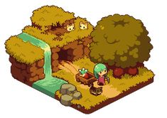 maybe ill use some of the ideas in my game Art Isométrique, Pixel Art Background, Animal Crossing, 2d Game Art, 8bit Art, Isometric Art, Pixel Art Games, Environment Concept Art, Environmental Art