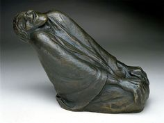 Ernst Barlach (1870-1938) - Old Woman Laughing (1937)