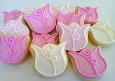 Flower Mini Sugar Cookies 2.5 dozen by acookiejar on Etsy, $27.95