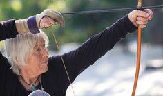 At 60, Bodhi Hanna Kistner moved from Germany to India. Then she started practicing Kyudo, Japanese zen archery. At 70, she became a Kyudo teacher. Now she's 88 and gives lessons in India, California and Hawaii.