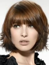 what i wish i could get my short hair to look like!