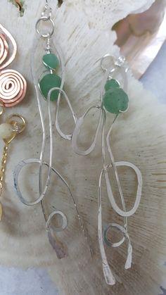 Seaweed Seaweed, Jewelry Making, Jewellery, Earrings, Fashion, Ear Rings, Jewelery, Moda, Jewellery Making