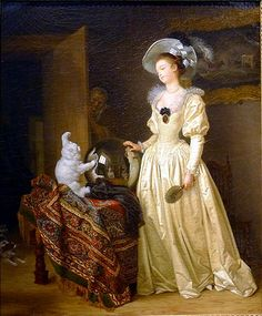 Le chat, angora, C.1783-85