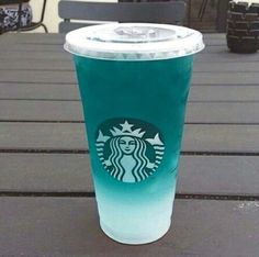 Image via We Heart It #blue #drink #food #grunge #starbucks #summer #tropical…