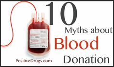 10 Myths about Blood Donation