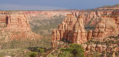 used to see this from my back yard! Colorado National Monument.