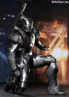 Iron Man 3: War Machine MK II - DieCast Deluxe Figur, Fertig-Modell ... http://spaceart.de/produkte/irm012.php