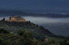 Castillo Di Velona in Montalcino, Italy.  We are calling our travel agent Monday.