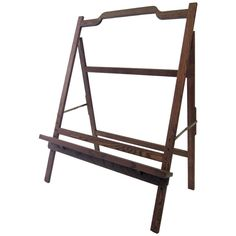 Large Mid-Century Modern Easel   From a unique collection of antique and modern easels at https://www.1stdibs.com/furniture/more-furniture-collectibles/easels/