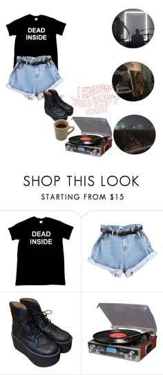 """No. 18"" by melissaemily08 ❤ liked on Polyvore featuring Jeffrey Campbell and Crosley Radio & Furniture"