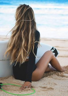 You don't have to wait for summer to come around to enjoy that beautiful beach tasselled hair. [ www.HolmanRV.com/ ]