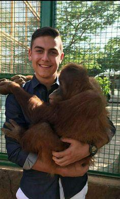 Il est trop mignon avec le petit singe