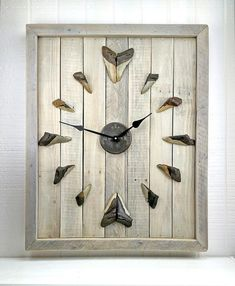Hey, I found this really awesome Etsy listing at https://www.etsy.com/listing/269731101/megalodon-shark-tooth-clock-cl31-dw-meg