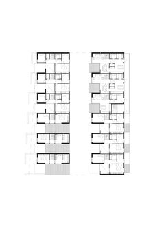 Sustainable Town Houses / C.F.Møller Architects