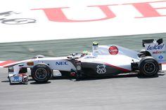 Sergio Perez   Sauber C30   Spanish Grand Prix