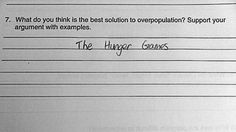 31 Hilarious Test Answers from Smart Ass Kids