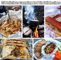Camping and grilling meal ideas!