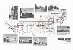 Route 66 Map (interactive)
