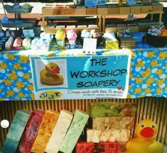 The Workshop Soapery will be selling handcrafted soaps and bath goods at Art at the Mill on July 28, 2018. This event is held in the Richfield Historical Park, 1896 Hwy 164, Richfield, WI 53076