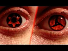 REAL LIFE Anime Eyes #4: Mangekyou Sharingan Edition - YouTube