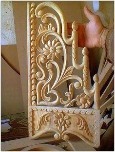 Precioso trabajo de talla en madera