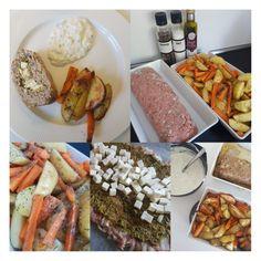 Fyldt græsk farsbrød med tzaziki - let og lækkert. – #Hashtagmor