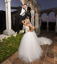 Mike Mizanin & his new wife Maryse Maryse Wwe, The Miz And Maryse, Maryse Ouellet, Wwe Couples, New Wife, Women's Wrestling, Wedding Bells, Wedding Bride, Wedding Stuff
