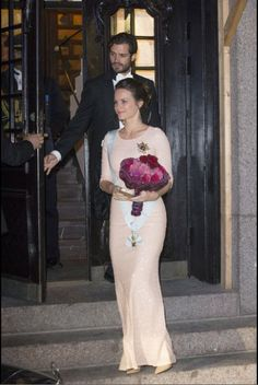 Prince Carl Phillip and Princess Sofia attended The Royal Swedish Academy of Engineering Sciences' Formal Gathering on October 23, 2015 in Stockholm, Sweden.