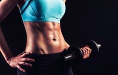 10 Single-Dumbbell Exercises That'll Help You Sculpt Flat Abs | Women's Health
