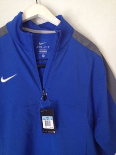 023a3ec7 New Mens Nike Dri Fit 1/4 Zip Baseball Hot Jacket Pullover Golf Football M # Nike #CoatsJackets