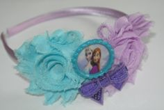NEW Princess HeadbandDisney FROZENshabby by MaddieBsBoutique, $8.95