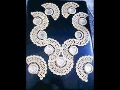 موديلات صدورة كروشي Crochet Collar