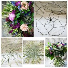 Image result for images for constructing wire bouquets