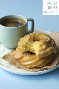 Salted Maple Crullers // The Sugar Hit!