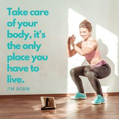 Your quality of life is largely determined by your physical level of health so its time to start taking care of your body if you aren't already.