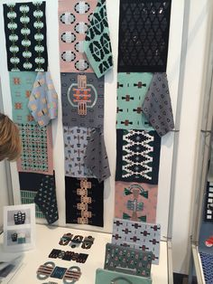 GSA textile degree show 2015 Textile Prints, Textile Patterns, Textile Design, Textile Art, Fabric Design, Print Patterns, Print Design, Scarf Display, Textiles Sketchbook