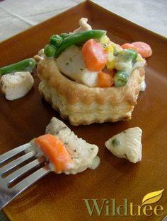 Wildtree's Individual Chicken Pot Pies Recipe http://mywildtree.com/jillbuck