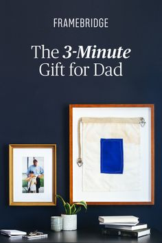 The 3-Minute Father's Day Win! Custom photo gifts starting at $39.