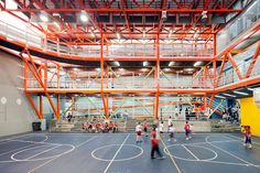 interior of vertical gym in caracas, venezuela– photo by iwan baan courtesy of urban-think tank