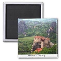 Meteora – Thessaly Refrigerator Magnet