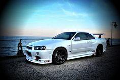 R34 Gtr, Nissan Gtr R35, Nissan Gtr Skyline, Nissan Silvia, Japan Cars, Sweet Cars, Modified Cars, Jdm Cars, Godzilla