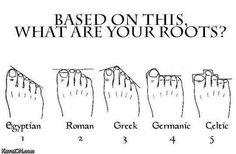 I guess I'm Roman!!