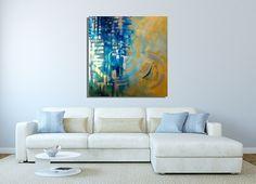 Nautical Original Painting by Miami based artist Laelanie Larach - Laelanie Art Gallery