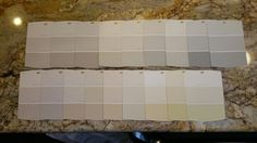 All color swatches
