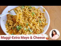Maggi Noodles with Cheese and Mayo